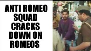 UP Anti romeo squad arrests 20 romeos : Watch video