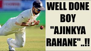 Rahane did well after replacing Virat Kohli as captain, hails fielding coach