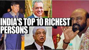 Top 10 India's richest persons