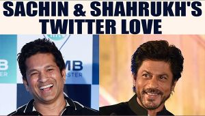 Shahrukh Khan gets beautiful message from Sachin Tendulkar