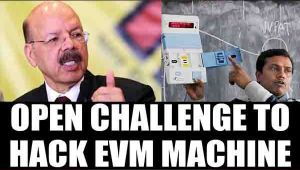 Election commission throws EVM hack challenge to political parties