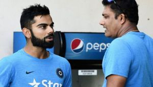 ICC Champions Trophy: Virat Kohli and Anil Kumble rift out in open