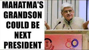 Gopal Krishna Gandhi will be opposition's candidate for President of India