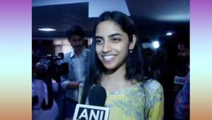 CBSE Class 12 topper Raksha Gopal wishes to pursue political science in DU