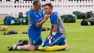 ICC Champions Trophy: Glenn Maxwell, Mathew Wade hit on helmet at practice