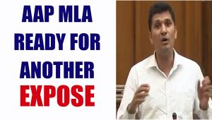 AAP MLA Saurabh Bhardwaj ready for another expose