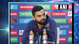 ICC Champions Trophy : India vs South Africa, Virat Kohli reacts on virtual quarter final