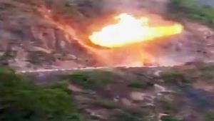 RishikeshBadrinath : Multiple gas cylinder explode on highway, watch video
