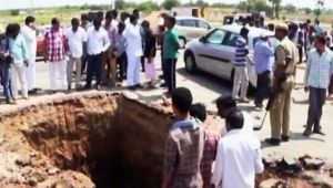 Telangana man digs highway in search of Shiva Lingam, arrested