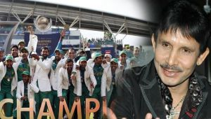 ICC Champions trophy : KRK claims, India vs Pakistan final was fixed