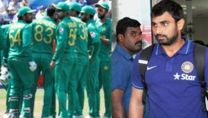 ICC Champions Trophy: Shami looses COOL when Pakistani fan takes dig at Indian team