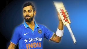 ICC Champions trophy : Virat Kohli signs Rs 100 Crore deal with MRF