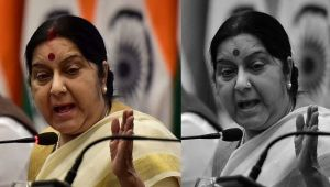 Sushma Swaraj promise assistance to Indians even on Mars