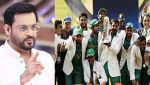 ICC Champions trophy : Pakistan anchor goes frenzied after defeating India in final