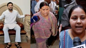 Lalu's wife and kids booked for benami assets