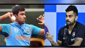 ICC Champions Trophy : Virat Kohli hints of playing with Ashwin against Bangladesh