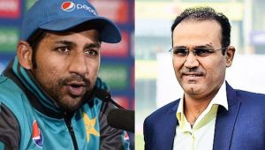 ICC Champions Trophy : Virender Sehwag supports Pak skipper Sarfraz Ahmed