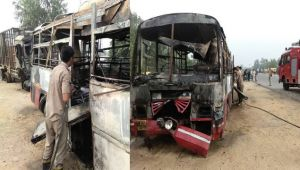 UP Bus collides with truck killing 22