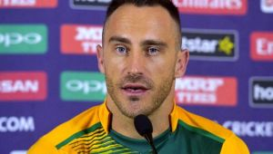 ICC Champions Trophy : Faf du Plessis blames himself for Proteas defeat to India