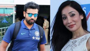 ICC Champions trophy: Rohit Sharma blocked by his ex girlfriend Sofia Hayat on twitter