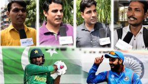 ICC Champions trophy : India vs Pakistan final public opinion, watch
