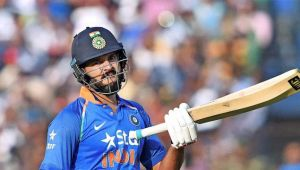 Yuvraj Singh wore Champions Trophy jersey during 2nd ODI match with WI