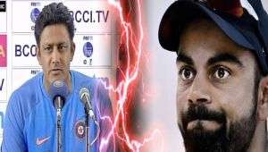 ICC Champions trophy : Anil Kumble blames Virat Kohli for his decision to step down
