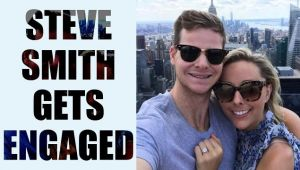 Steve Smith gets engaged to his five year old girl friend, Dani Willis