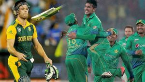 ICC Champions Trophy : South African top order crumbles, Amla, De Villiers ineffective