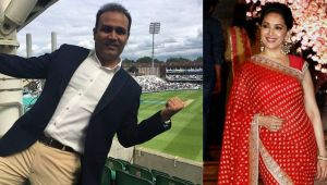 Virender Sehwag dream of working with Madhuri Dixit in his biopic