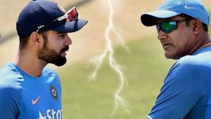 ICC Champions trophy : Virat kohli involved in verbal spat before match against Pakistan