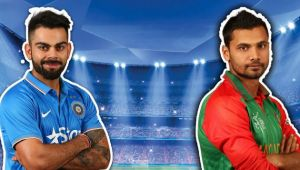 ICC Champions Trophy : India defeats Bangladesh by 9 wickets, Rohit Sharma Man of the Match
