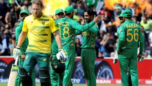 ICC Champions Trophy : Pakistan beat South Africa  by 19 runs