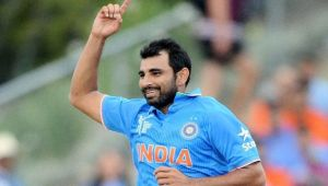 ICC Champions Trophy : Mohammed Shami eyes to be fastest 100 wicket taker