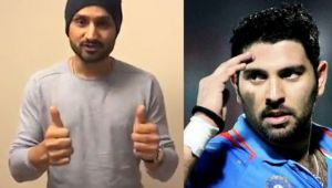ICC Champions trophy: Harbhajan wishes Yuvraj man of the match on 300th ODI feat