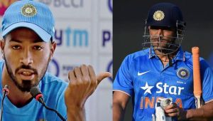 ICC Champions trophy : Hardik Pandya may replace MS Dhoni as a match finisher