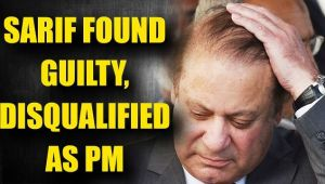Nawaz Sharif found guilty in Panama Paper Case, disqualified as PM