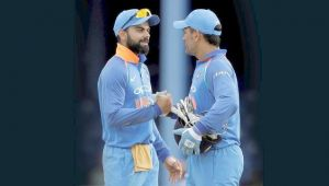 India vs West Indies 3rd ODI : Virat Kohli says, MS Dhoni stepped up when needed