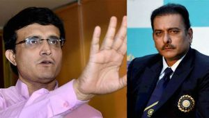 Sourav Ganguly upset with Shastri's demand over bowling coach