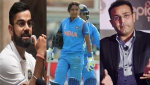 ICC Women World Cup: Virat Kohli and Sehawag hailed Harmanpreet for her century