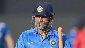 India vs West Indies 4th ODI : MS Dhoni was in tears after facing defeats