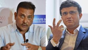 Ravi Shastri opens up on Sourav Ganguly after becoming coach