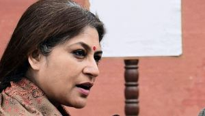 West Bengal Unrest : BJP MP Roopa Ganguly booked for her controversial remarks