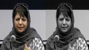 Mehbooba Mufti says can't protect Indian Flag if JnK special status snatched