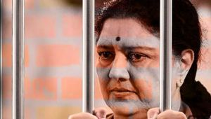Sasikala bribes prison officers, gets luxury treatment in jail