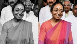 Presidential elections : Meira Kumar says she is not upset with defeat