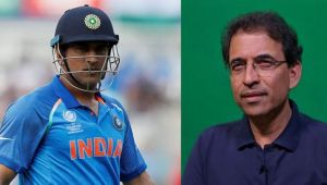 India vs West Indies 4th ODIs : Harsha Bhogle reacts to MS Dhoni's slowest Innings