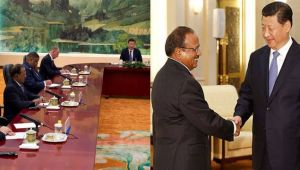Sikkim Standoff: Doval meets Chinese President Xi Jinping in BRICS Summit