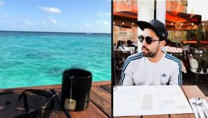 Rohit Sharma enjoying vocation as Team India battles West Indies