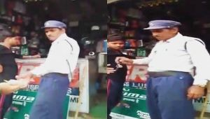 Gwalior Traffic police constable caught taking bribe